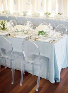 clear-invisible-wedding-chairs - Once Wed & 80 best Wedding Chair Ideas and Decorations images on Pinterest ...