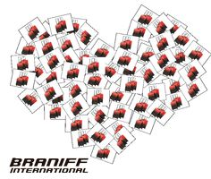 BRANIFF INTERNATIONAL Limited Color !