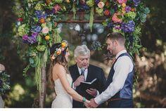 Arches de mariage - Mlle Bride