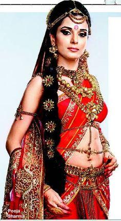 Pooja sharma as Draupadi
