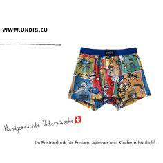 UNDIS www.undis.eu die bunten, lustigen und witzigen Boxershorts & Unterhosen für Männer, Frauen und Kinder. Handgemachte Unterwäsche - ein tolles Geschenk! #undis #kinderzimmerideen #kinderzimmerjunge #nähen #diy #kinderzimmermädchen #kindergarten #womensfashion #modischeoutfits #herrenbekleidung #herrenboxershorts #damenunterwäsche #männergeschenke #frauengeschenke #handmade #selfmade #familie #kids #boys #girls Boho Shorts, Casual Shorts, Hipster, Girls, Women, Fashion, Funny Underwear, Gift Ideas For Women, Men's Boxer Briefs