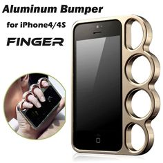 Find More Phone Bags & Cases Information about 100% aluminium alloy For iPhone 4 4s Bumper Fashion Lord Rings Knuckles Finger Phone Frame Case Cover,High Quality frame sunglasses,China frame 10 Suppliers, Cheap phone casse from Just Only on Aliexpress.com