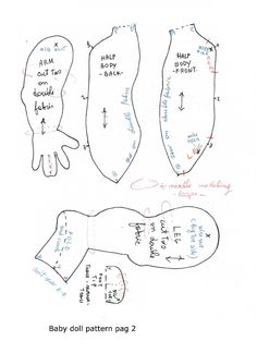 Baby Doll pattern by Gentedipezza pag 2