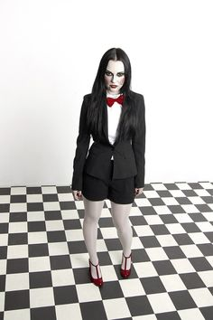 Billy The Puppet (female version) by jurisdictia.deviantart.com #cosplay