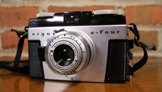 Argus camera. Old Cameras, Vintage Cameras, Photography Tools, Photography Equipment, Digital Camera, Nikon, Free Shipping, Photo And Video, Accessories