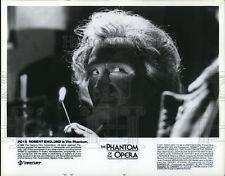 1989 Press Photo Robert Englund in The Phantom of the Opera - cvp50092
