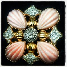 We have this beautiful KJL signed pendant/brooch in the shop!