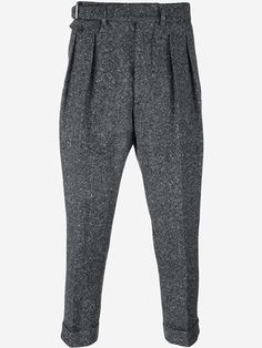 Wooster + Lardini cropped trousers
