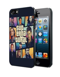 Supernatural Gta Samsung Galaxy S3 S4 S5 Note 3 Case, Iphone 4 4S 5 5S 5C Case, Ipod Touch 4 5 Case