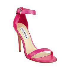 REALOVE PINK NEON women's dress high ankle strap - Steve Madden