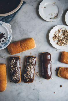 Chocolate Hazelnut Long Johns