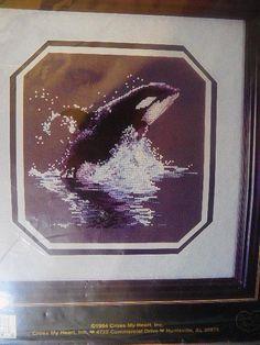 Cross My Heart ORCA Classic Cross Stitch Kit # CSBK-95-1 #CrossMyHeart