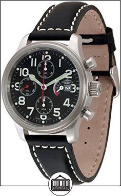 Zeno-Watch Reloj Mujer - NC Pilot Chrono Power Reserve - 9553TVDPR-a1 de  ✿ Relojes para hombre - (Lujo) ✿