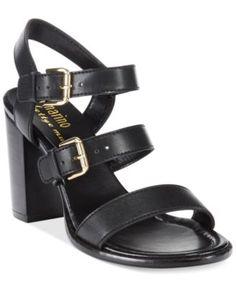Ann Marino by Bettye Muller Delia Block Heel Sandals | macys.com
