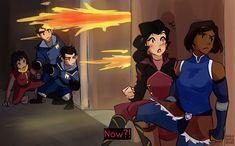 2/5 Korra Avatar, Team Avatar, Yuri Comics, Asami Sato, Avatar Series, Lesbian Art, Korrasami, Fire Nation, Legend Of Korra