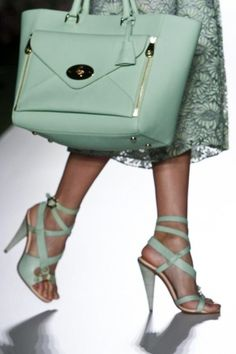 Mulberry bag S/S 2013 RTW, London FW.