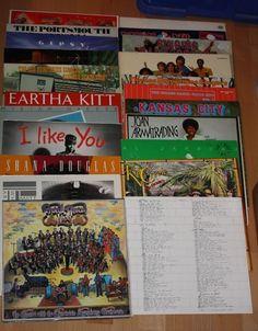 Vinyl Sammlung + Rock/Pop + Bianco + Pink Floyd + Makeba + Prokol Harum