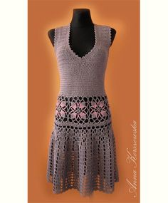 Gorgeous Dress Crochet MADE TO ORDER Crochet por AnnaKorszewska, $890.00