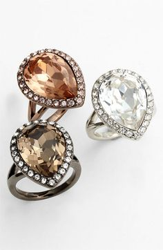 Givenchy 'Rock Crystal' Cocktail Ring