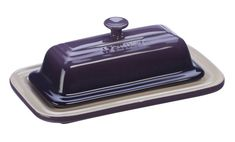 Le Creuset Purple Butter Dish