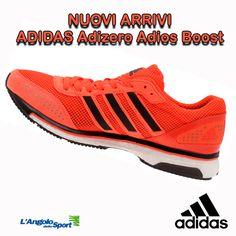 Nuovi arrivi! #Adidas Adizero Adios #Boost Vieni a provare la straordinaria tecnologia Boost!