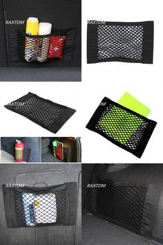 [Visit to Buy] Car styling Car Side Rear Trunk Storage Net Pocket Bag For Cruze Opel Mokka ASTRA J Insignia sedan Sport Tourer 2010-2016 #Advertisement
