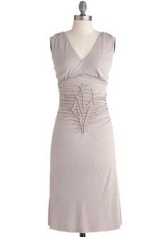 Wake and Walk Dress.  Love the design of this dress.  Not sure I'd look good in silver.  Maybe they'll make it in other colors?  ($89.99)