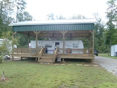 RV Shelter/RV Garage Kit | Arbor Wood Products