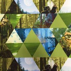 Baumwollstoff Star Wars Ewoks