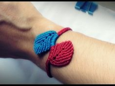 DIY/TUTORIAL Spiral Macrame Bracelet - YouTube