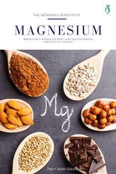 Magnesium is needed for more than 300 biochemical reactions in the body. Anti Oxidant Foods, Anti Inflammatory Recipes, Magnesium Benefits, Alkaline Foods, Super Foods, Balanced Diet, Autoimmune, My Recipes, Minerals