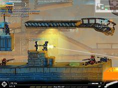 Jeu Strike Force Heroes. Deathmatch, Juggernaut, capture de drapeau ou domination, le jeu d'action Strike Force Heroes vous permettra de démontrer toute l'étendue de vos skills.