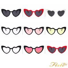 Love Heart Shape Sunglasses Women Cat Eye Vintage Sunglasses For Women  Uv400  ebay  Fashion. Lunettes De Soleil ... 0eceea74c70e