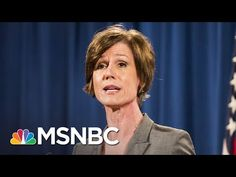White House Denies Trying to Block Sally Yates From Testifying On Russia | MSNBC - YouTube