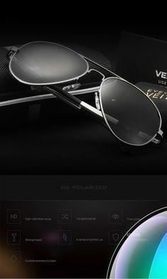cool Brand Hot New Fashion Men's  UV400 Magnesium aluminumPolarized Sunglasses Driving Aviator Mirrors Eyewear Sun Glasses for Men