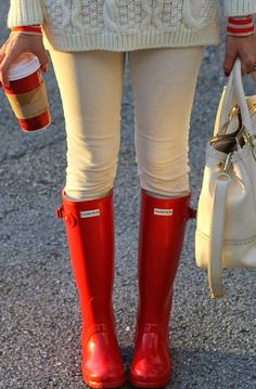 Wellies rather than boots