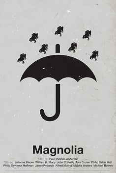 raining frogs - Magnolia movie poster