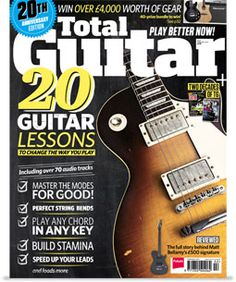 #TotalGuitar is a #magazine for anyone who wants to get into #guitar, and wants to keep up to date with all the #latest #product and #music news. Every issue features helpful how-to guides, expert product reviews, interviews with hot new #artists and #rock #legends, plus in-depth #tutorials that will make you a better player. Whether you're a fan of #rock, #punk and #metal, or #acoustic and #blues, Total Guitar has something to offer you.