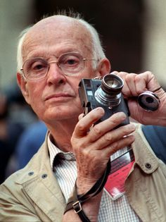 Henri Cartier-Bresson (August 1908 -- August was a French photographer considered to be the father of photojournalism. He was an early adopter of 35 mm format, and the master of candid photography. History Of Photography, Modern Photography, Candid Photography, Street Photography, Learn Photography, Photography Portraits, Documentary Photography, Digital Photography, Henri Cartier Bresson