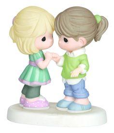 Amazon.com - Precious Moments Girls Making Pinkie Promise Figurine -