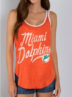 MIAMI DOLPHINS-ORANGE/ELECTRIC WHITE-S