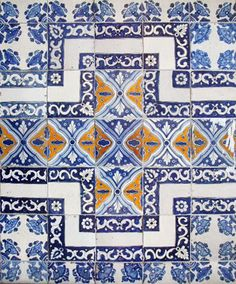 mexican tiles - Handmade tiles can be colour coordinated and customized re. shape, texture, pattern, etc. by ceramic design studios