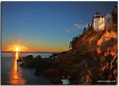 Bass Harbor Light, Mt. Desert Island, Maine (Acadia National Park)