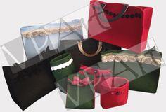 Varie borse e borselli, porta lettere, porta trucchi!