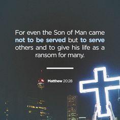 Mathew 20:28