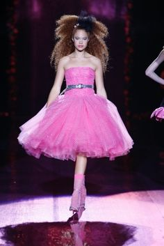 "Betsey Johnson Spring 2008 ""Prom Queen"""