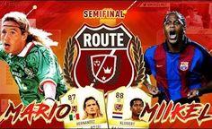 KLUIVERT VS HERNÁNDEZ | ROUTE VS DJMARIIO