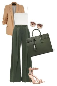 Moda, River Island, Topshop, Gianvito Rossi, Chloé e Yves Saint Laurent Mode Outfits, Office Outfits, Fashion Outfits, Fashion Trends, Fashion Clothes, Fashion Bloggers, Casual Mode, Work Casual, Looks Chic