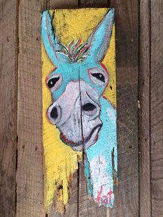 Barn wood art on Etsy, $65.00