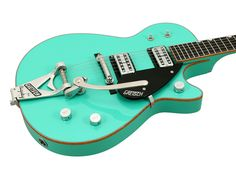 Gretsch Masterbuilt Jet Firebird Custom Shop Seafoam Green | This baby is so cool looking with that COLOR! WOW Americana to the max!